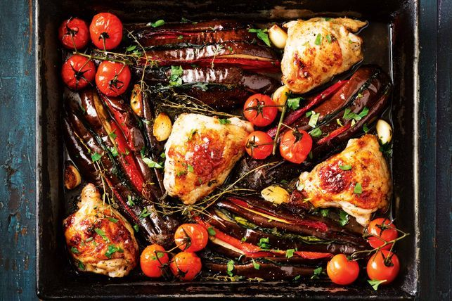 Eggplant and Chicken Recipes